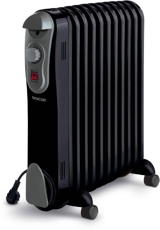 Olejový radiátor SENCOR SOH 3111BK