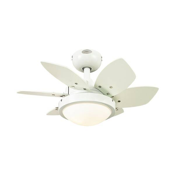 Ventilátor Westinghouse Quince bílý