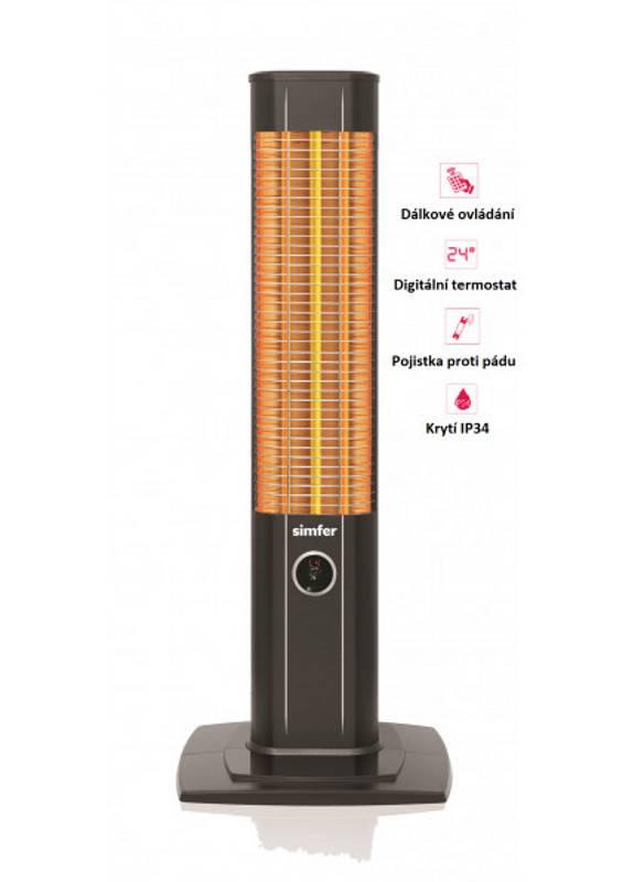 Infrazářič Simfer S1860WTB UK