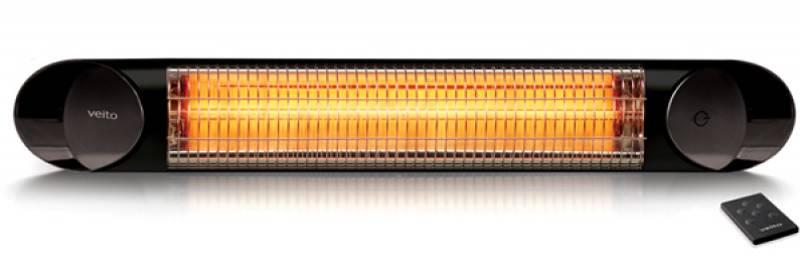 Karbonový zářič Veito Blade S Black 2500
