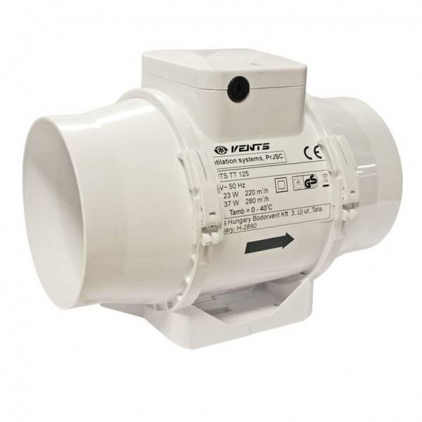 Ventilátor VENTS TT 125 S