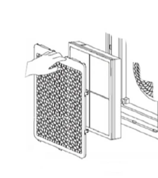 Náhradní filtr pro Daitsu CADR-118
