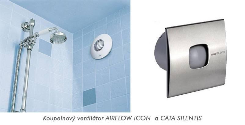 Koupelnové ventilátory