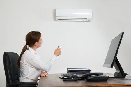 klima v kanceláři