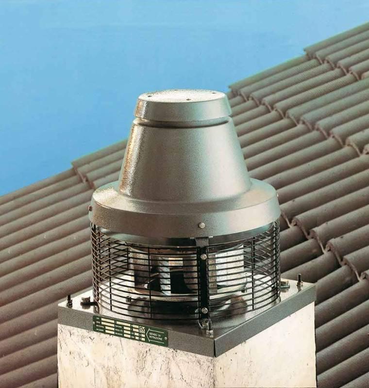 Komínový ventilátor