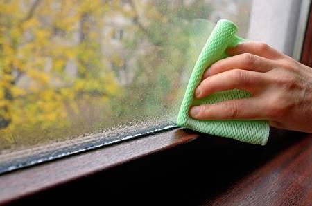 kondenzace voda okna