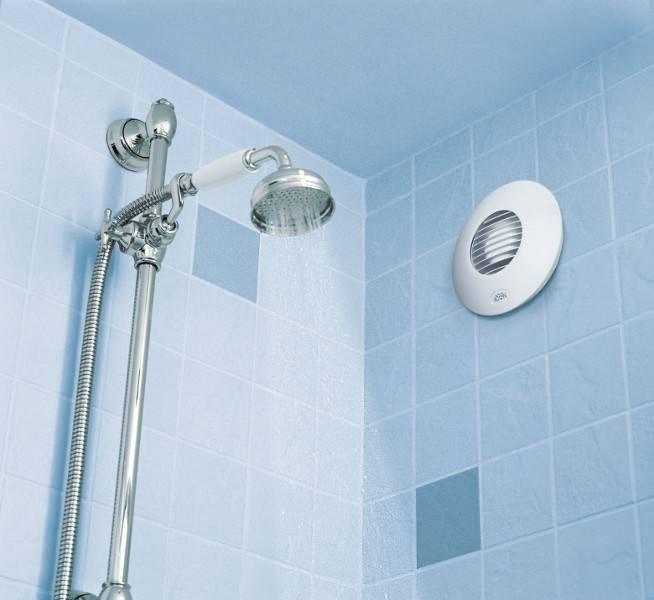 Ventilátor do koupelny se zpětnou klapkou