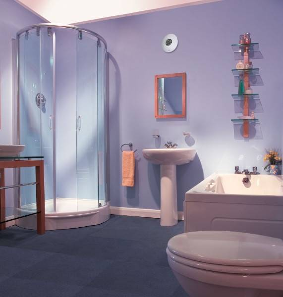 Jak efektivně odvětrávát WC #Ventilátor