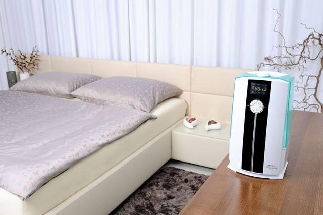 zvlhcovac IONIC CARE kombinovany-zvlhcovac-vzduchu-s-ultrazvukem-a-ohrevem-pary